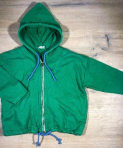 Sweatshirtjacke mit Kapuze von Cotton People