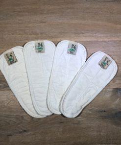 4er-Pack Windeleinlagen von Lotties, Gr. S