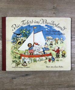 Die Fahrt ins Wunderland von Fritz Baumgarten und Lena Hahn (Titania-Verlag)
