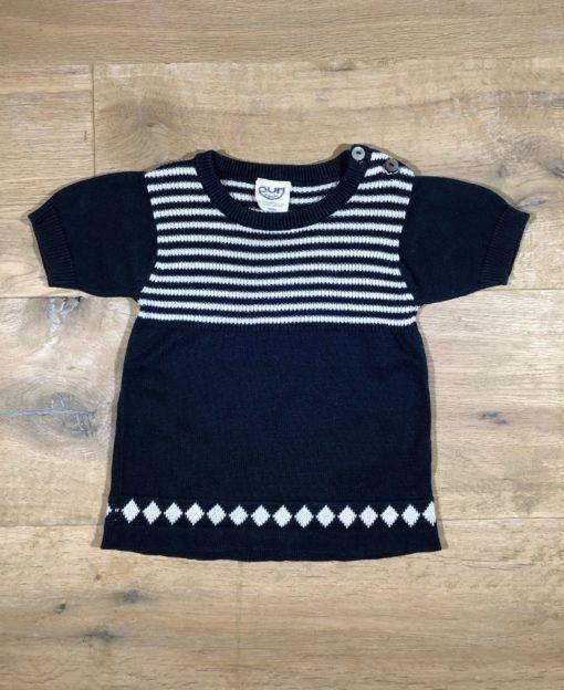 Pullover mit halbem Arm von Puri organic, Gr. 62/68