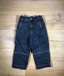 Gefütterte Jeans von Hessnatur, Gr. 92