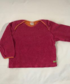 Fleece-Pullover von loud+proud, Gr. 86/92