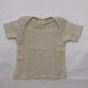 Shirt aus Wolle/Seide mit Baumwolle von Cosilana, Gr. 62/68