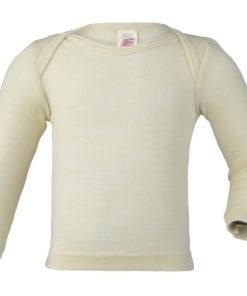 Neues Wolle/Seide-Schlupfhemd von Engel, Gr. 86/92