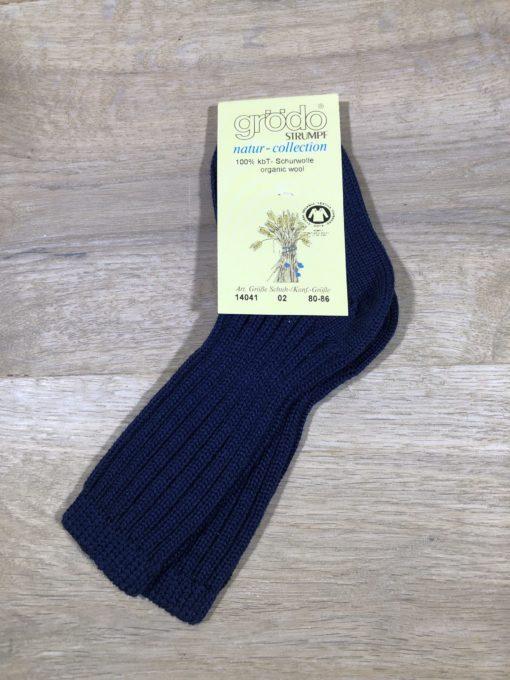 Neue Socken aus Schurwolle von grödo, Gr. 80/86