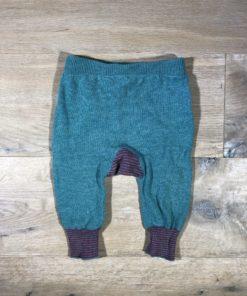 Schlupfhose aus Baumwolle/Wolle von Puri organic, Gr. 62/68