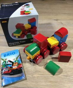Magnetic Train BRIO Blocks (30124)