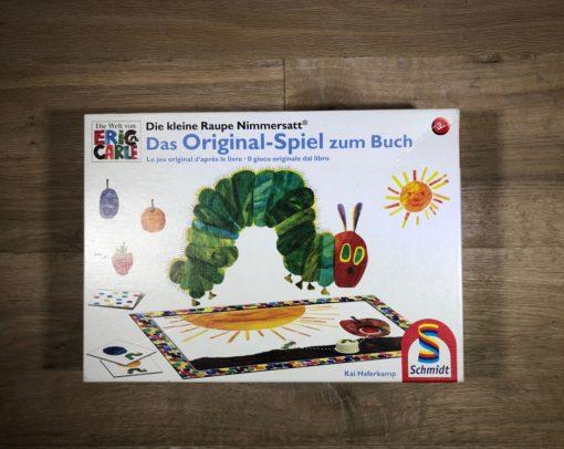 """Spiel """"Die kleine Raupe Nimmersatt"""" von Eric Carle (Spiel von Schmidt)"""