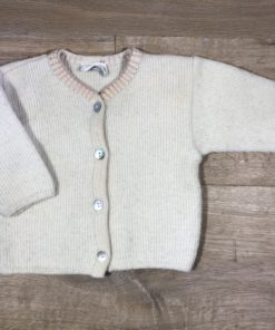 Warme Strickjacke von Selana, Gr. 62/68