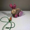 Nachzieh-Hase aus Holz von Selecta