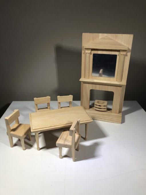 Puppenhausmöbel von PlanToys (Esszimmer)