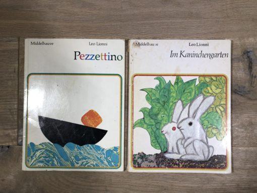 Pezzettino und Im Kaninchengarten von Leo Lionni (Middelhauve Verlag)