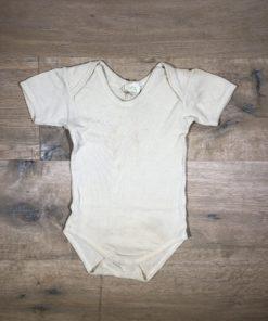 Wolle/Seide-Body von Alana, Gr. 74/80
