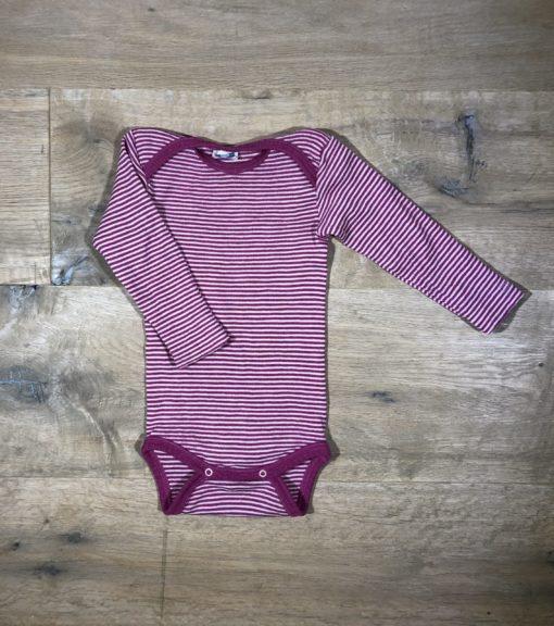 Wolle/Seide-Body von Cosilana, Gr. 74/80