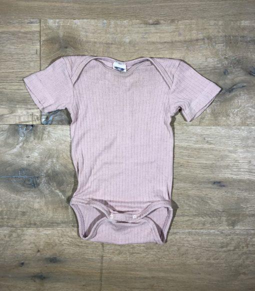 Wolle/Seide-Body mit Baumwolle von Cosilana, Gr. 62/68