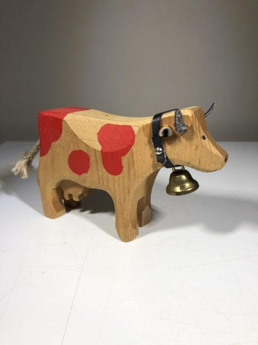 Holz-Kuh  von Trauffer