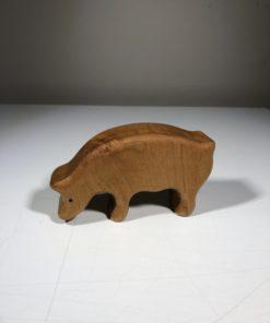 Holz-Schwein von Werkstättle