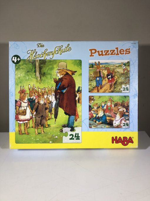 Puzzles von Haba: Die Häschenschule