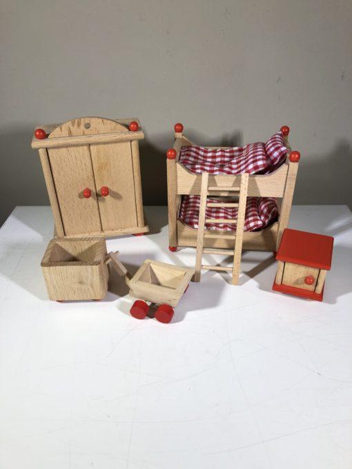 Puppenhausmöbel von goki (Kinderzimmer)