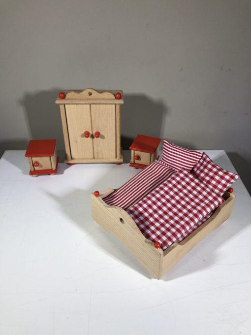 Puppenhausmöbel von goki (Schlafzimmer)