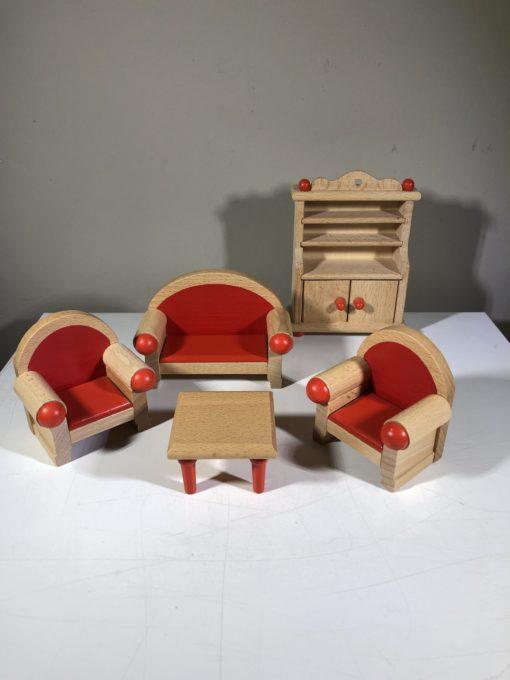 Puppenhausmöbel von goki (Wohnzimmer)