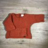 Perlstrick-Pullover von l'asticot, Gr. 80/86